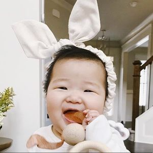 Other - Natural Soft Wire Bunny Ears Headband